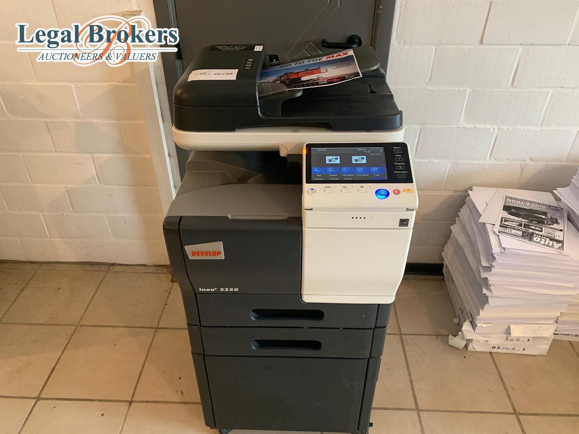 Ineo + 3350 - Kleurencopier / Drucken / Scannen / Faxen entwickeln
