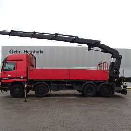 MERCEDES-BENZ Actros 2553 Palfinger PK 36002 4 x Hydr flatbed truck