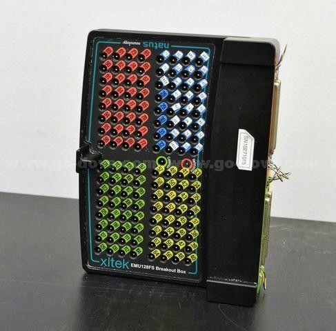 Natus Neurologie / Xltek EMU-128-FS Breakout Box