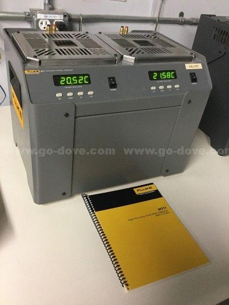 Kalibrator de doble bloque de secado en seco Fluke 9011