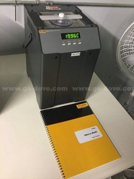 Fluke 7103 Micro-Bath-Thermometer-Kalibrator, 30 ° C bis 125 ° C