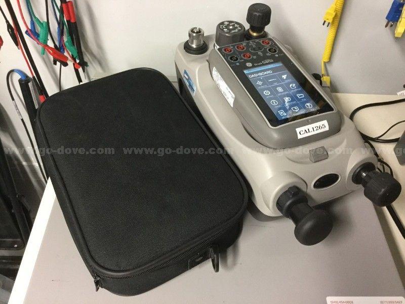 GE Druck Genii DPI620 Multifunktionskalibrator und HART-Communicator
