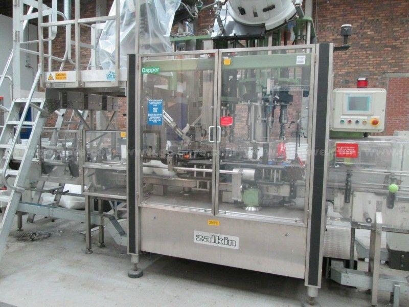 Doppelkopf-Flaschenverschlussmaschine