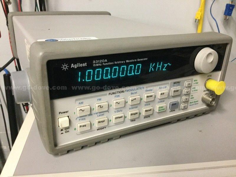 Generador de funciones Agilent 33120A / Generador de forma de onda arbitraria