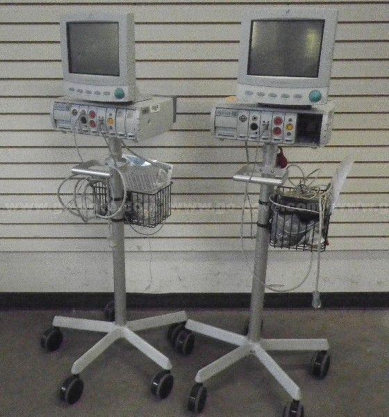2 EA Johnson & Johnson Dinamap MPS Select-Bedside-Monitore,