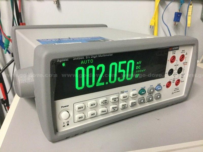 Multímetro digital Agilent 34450A 5 1 / 2