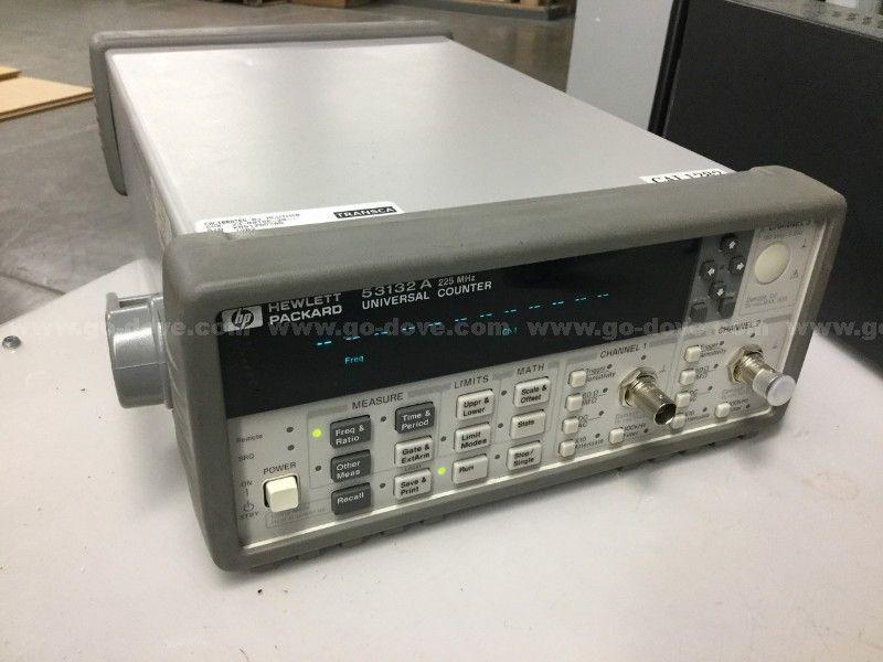 Hewlett Packard 53132A Universalzähler