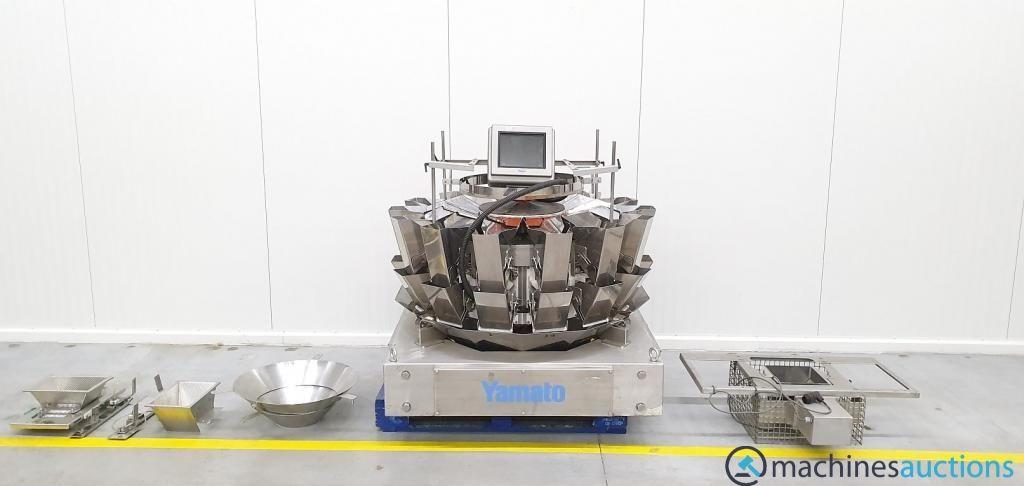 Yamato Multihead Waage Multi Head YAMATO SCALE Mehrkopfwaagen Scale GmbH Liste des Produits Téléchargements Ishid
