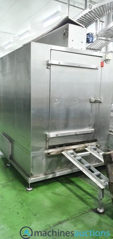 Industriewaschmaschinen Behälterwaschmaschinen Industriewaschmaschinen Trommelbehälter Kistenwaschma