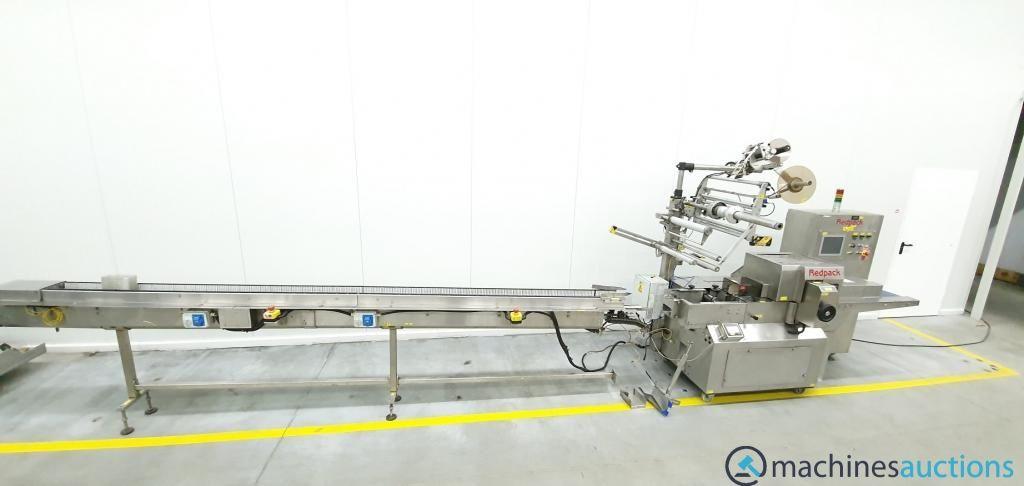 Redpack Packing Formers High Speed Tray Obstschalen Schlauchbeutelverpackungsmaschine Gemüse- und Ob