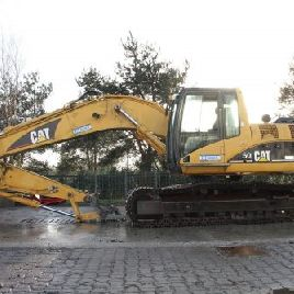 CAT 320C Crawler Excavator + SW, used