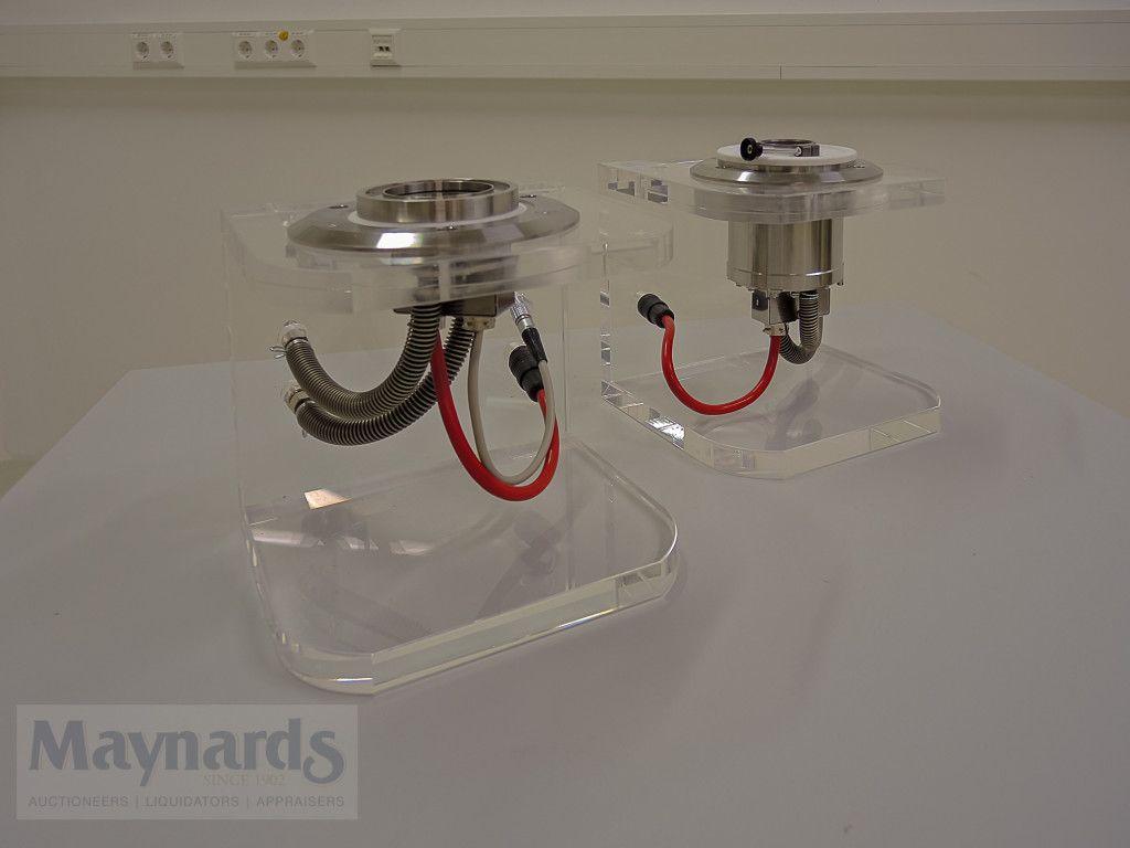 (2) Tribologie-Messzellen - ANTON PAAR C-PTD200 + P-PTD 200/62 / TG