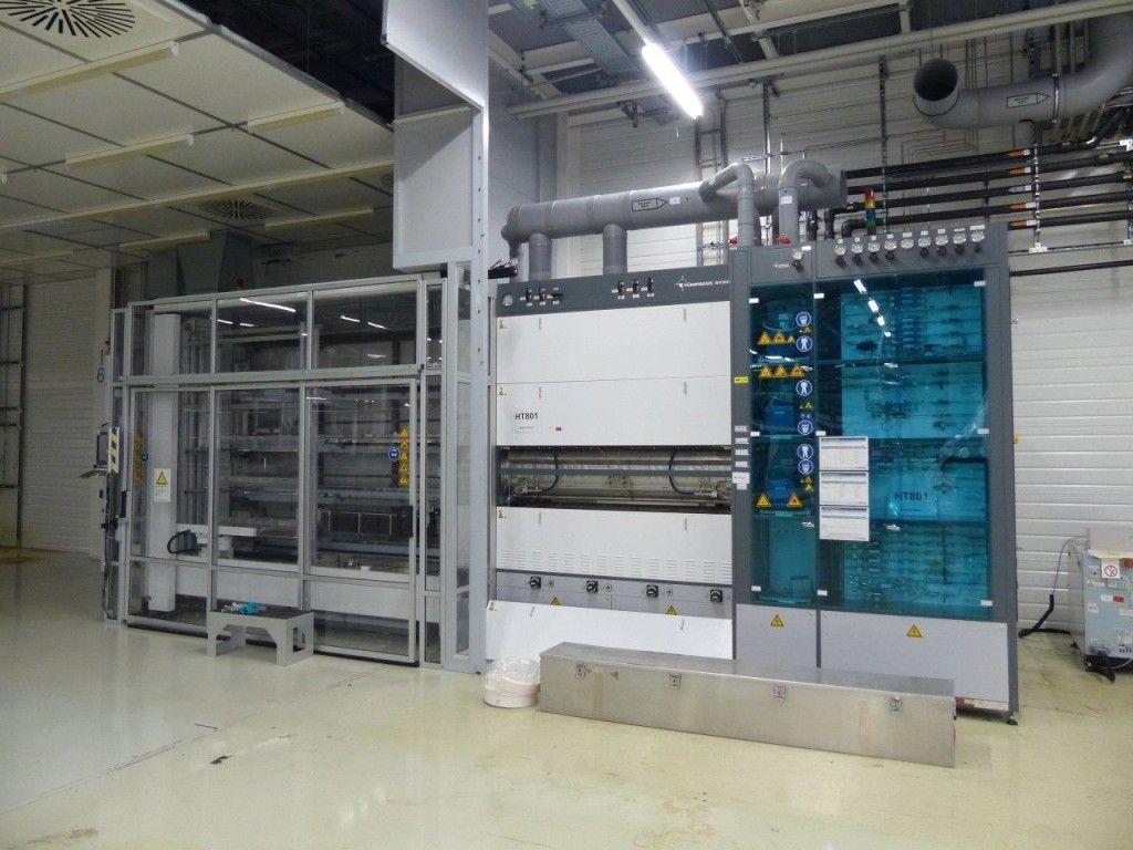 Vertikalrohr-Waffelofen - TEMPRESS TS-81004 RH, Neuheit 2008