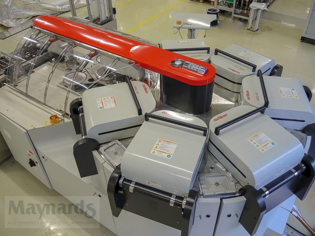 Système de pulvérisation - OERLIKON Solaris 6, neu 2011