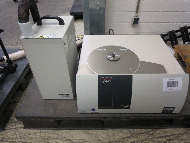 Differentialscanning-Kalorimetriegerät - NETZSCH DSC 200F3 Maia