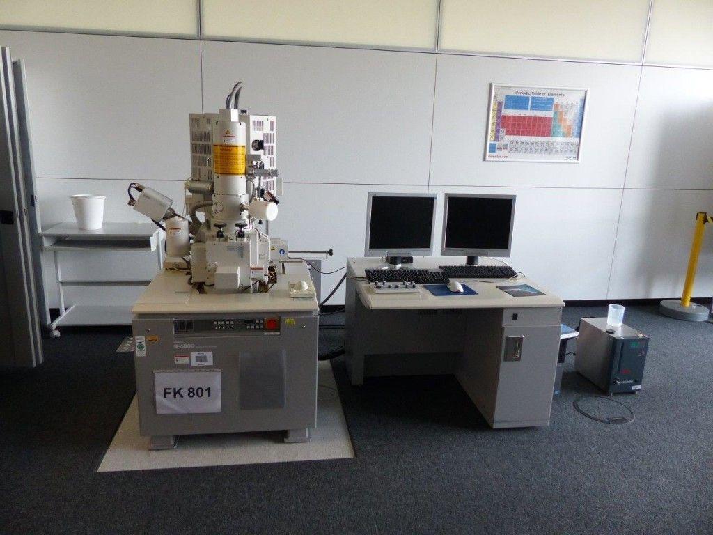Feldemissions-Rasterelektronenmikroskop (FE-SEM) - HITACHI S-4800, neu 2004