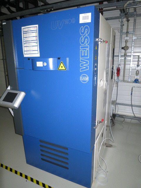Umweltprüfkammer - WEISS UV3 200, Neuheit 2012