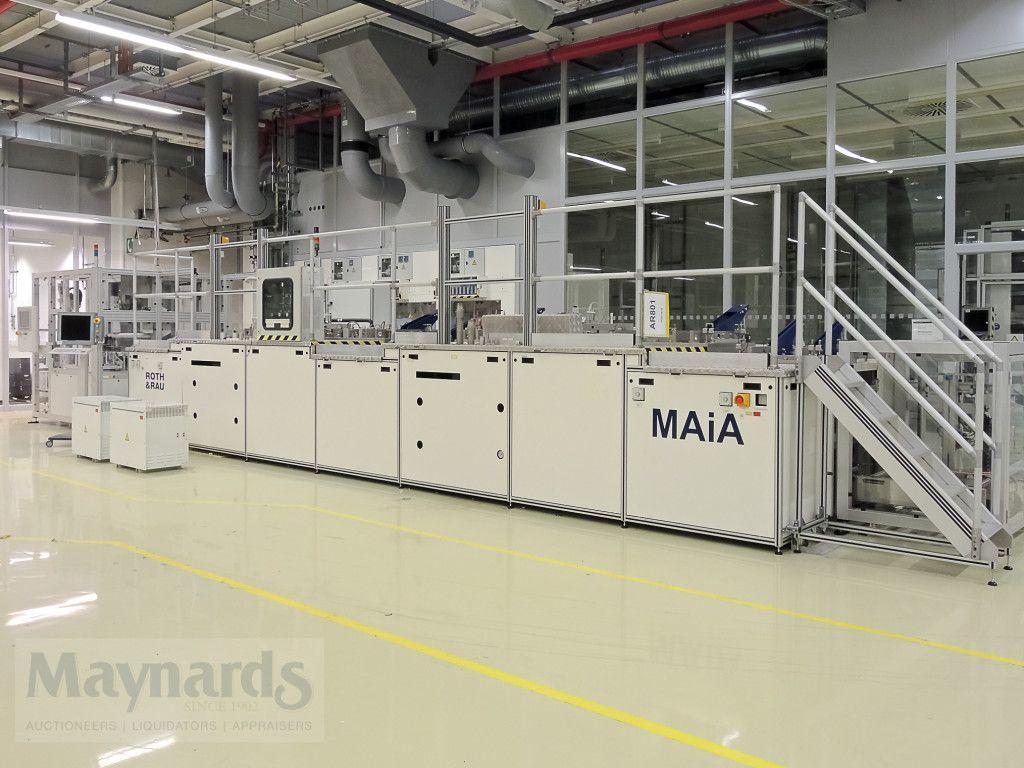 PECVD-Beschichtungssystem - ROTH & RAU WHP MAiA XS, Neuheit 2013