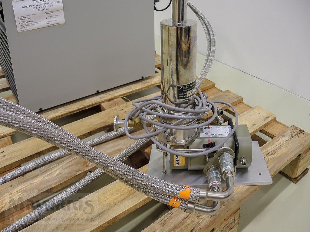 CCR-Systeme (Réfrigérateurs à cycle fermé) - JANIS CCS-350ST-H