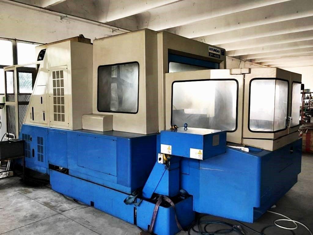 Horizontales Bearbeitungszentrum mit Hyunday SPT - H630S Palettenwechsler
