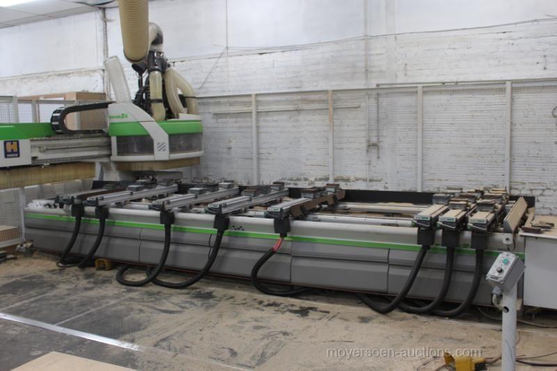1 CNC-Bearbeitungszentrum BIESSE ROVER 24L s / n .: