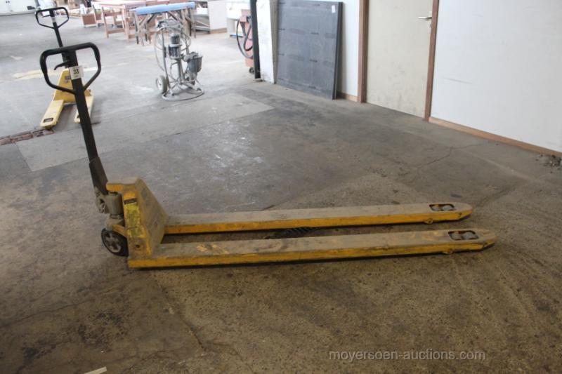 1 Handgabelstapler lange Gabeln MANUPARTS 2000 kg