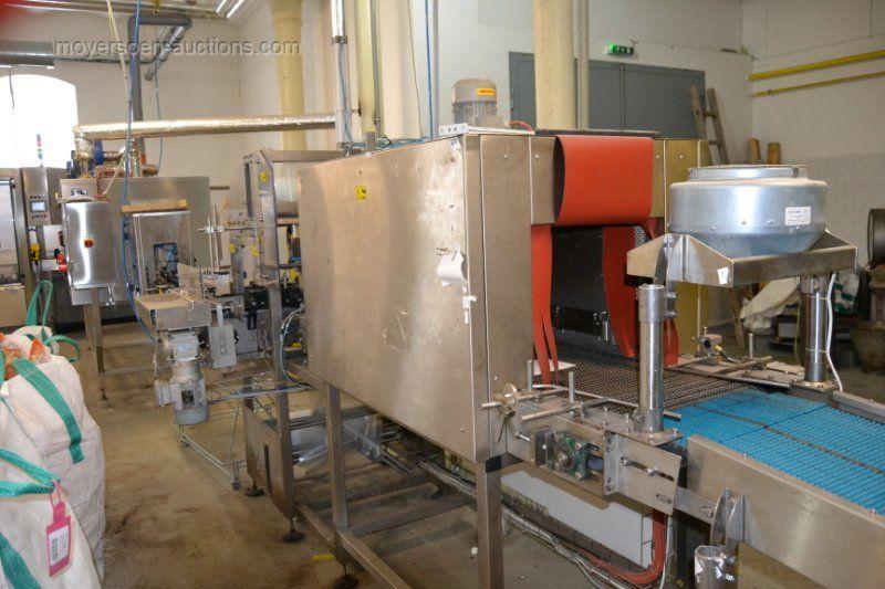 1 x Tray Verpackungsmaschine Verpackung und Schrumpftunnelmit