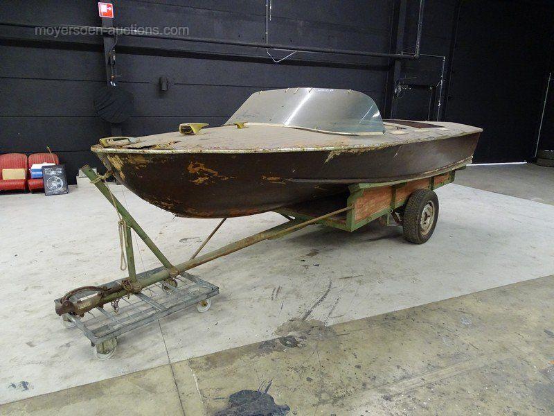 Poncelet Motorboot * Scheunenfund *