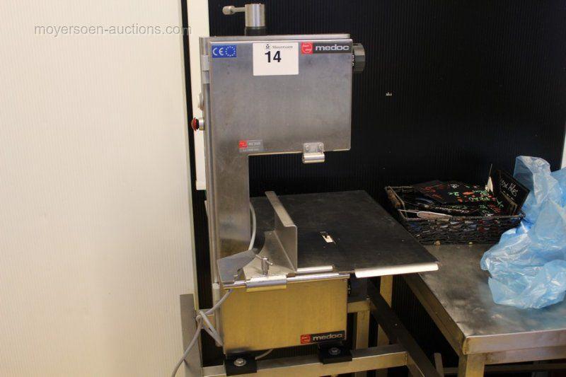 1 Professionelle Edelstahl-Knochensägemaschine MEDOC