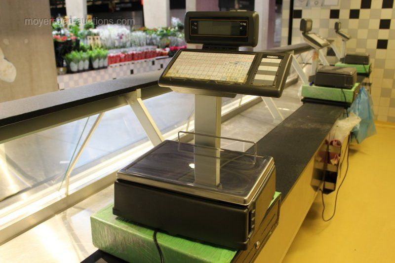 3 Digitalwaagen / Kassensysteme DIBAL 500-SW,