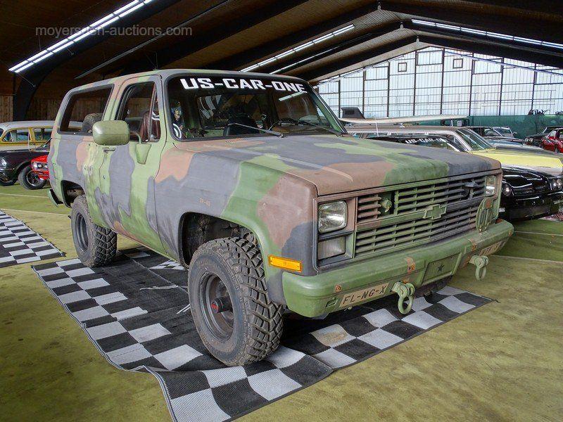 1986 CHEVROLET Blazer K5 Military M1009 Erstzulassung: