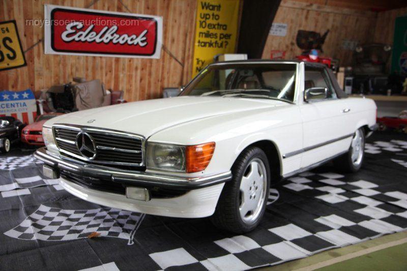 1983 MERCEDES-BENZ 380 SL Cabrio Baujahr: