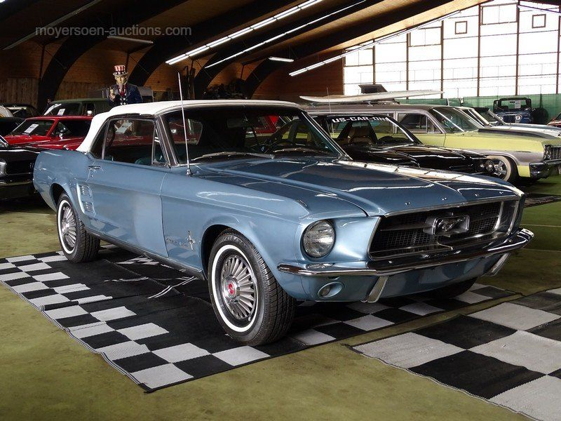 1967 FORD Mustang Cabriolet Baujahr: 1967 Chassis