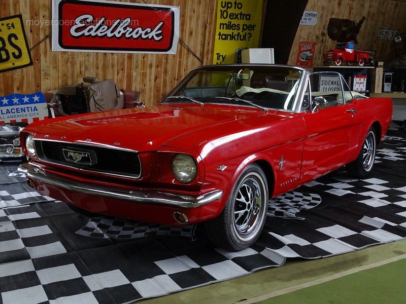 1966 FORD Mustang Cabriolet Baujahr: