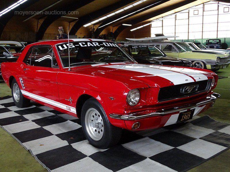 1966 FORD Mustang Erstzulassung: 01.07.1966