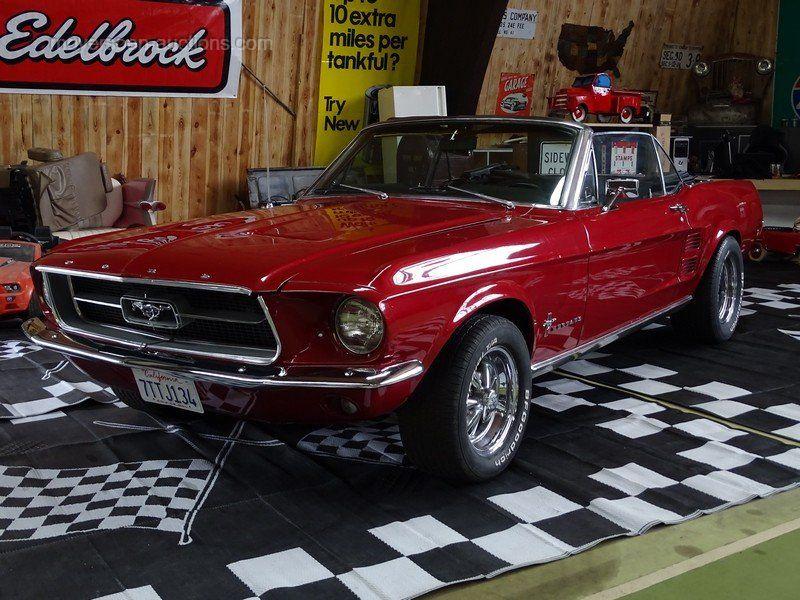 1967 FORD Mustang Cabrio Baujahr: 1967