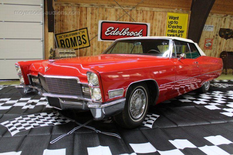 1968 CADILLAC Deville Cabrio Baujahr: