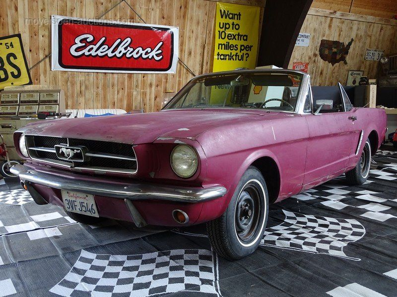 1965 FORD Mustang Cabrio Projekt Baujahr: