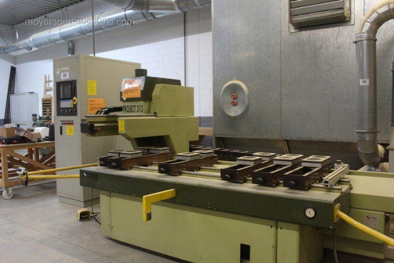 1 3-Achs-CNC-Holzbearbeitungsmaschine MASTERWOOD PROJECT