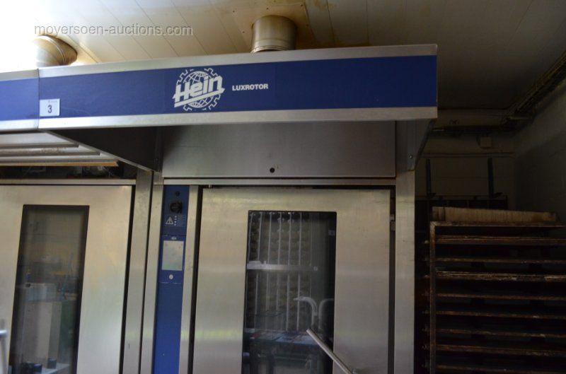 1 Drehrohrofen HEIN Luxorotor Fuel geölt