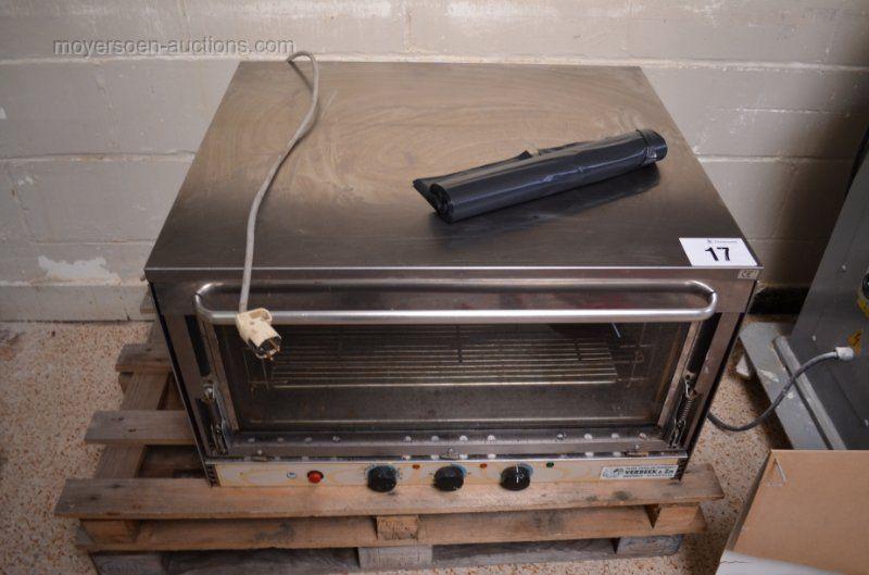1 elektrischer Backofen Lage: Bäckerei