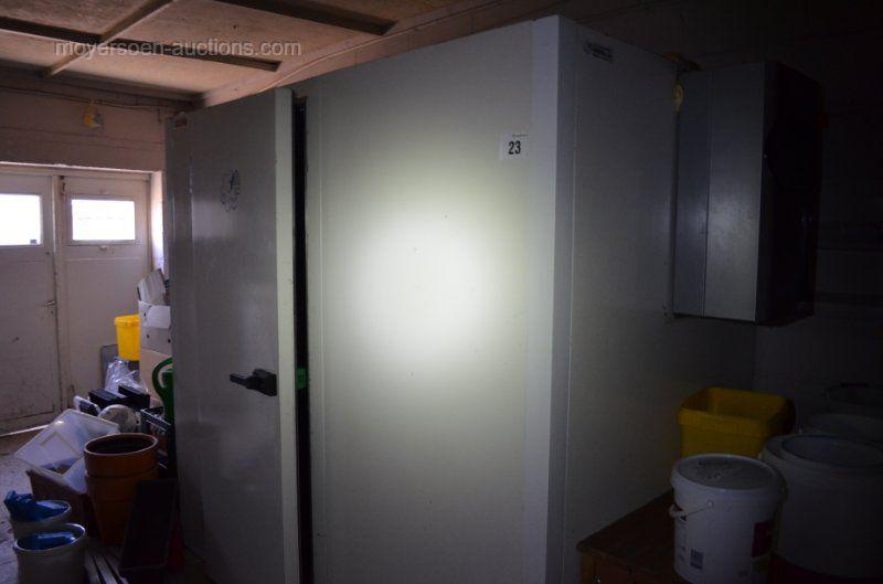 1 Kühlraum ZANOTTI Einbaukühlgruppe PVC