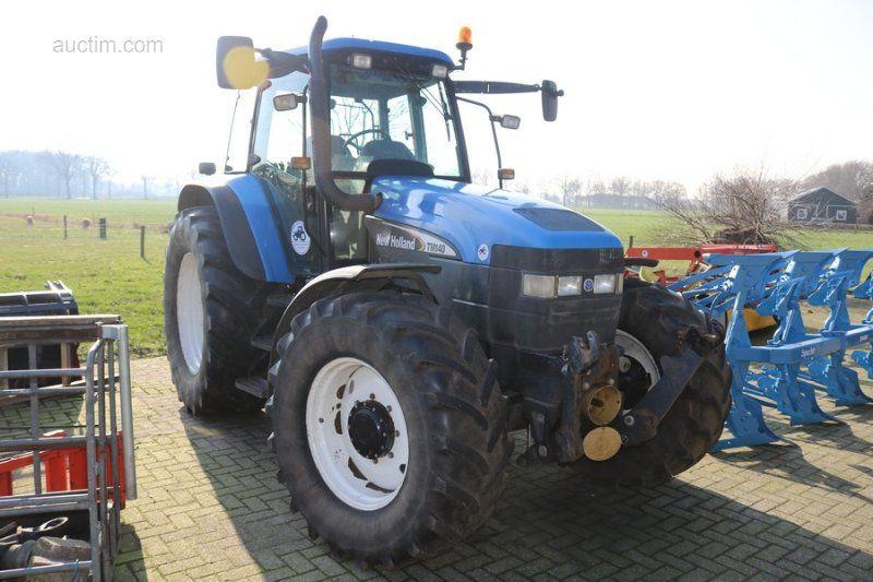 Traktor: Marke: New Holland: Typ: TM140: Baujahr:
