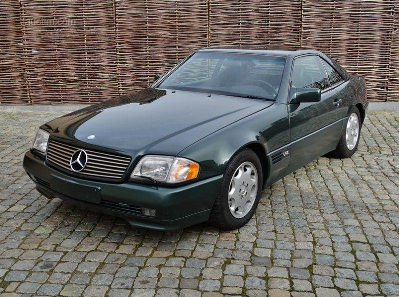 1992 MERCEDES-BENZ R129 SL 600 Erstanmeldung: