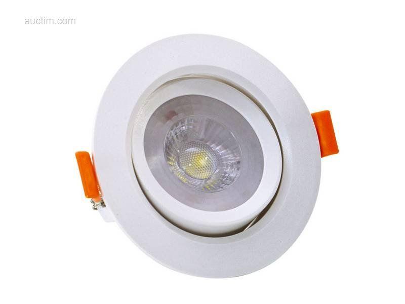 50 x 5 W SMD LED Einbaustrahler 4000K - Leuchtend