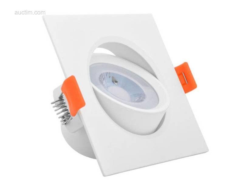 50 x 5 W SAMSUNG SMD LED Einbaustrahler 3000K