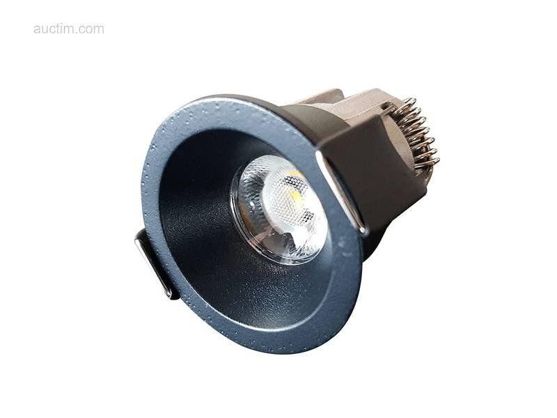 10 x 3W dimmbare COB LED Einbaustrahler 3000K