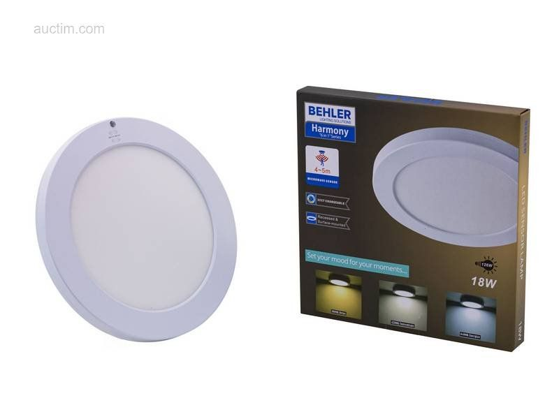 10 x 18 W SMD LED Einbau & amp; Aufputzplatten