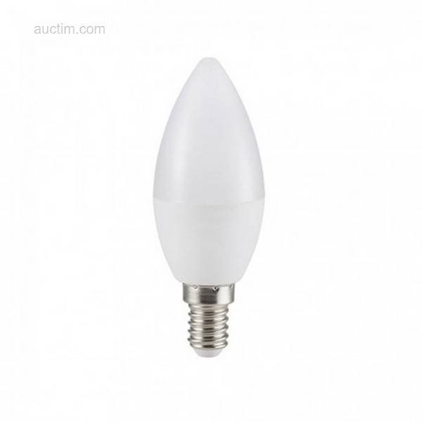50 x 6 W E14 C37 SMD LED-Lampen 4200K - Lichtstrom: