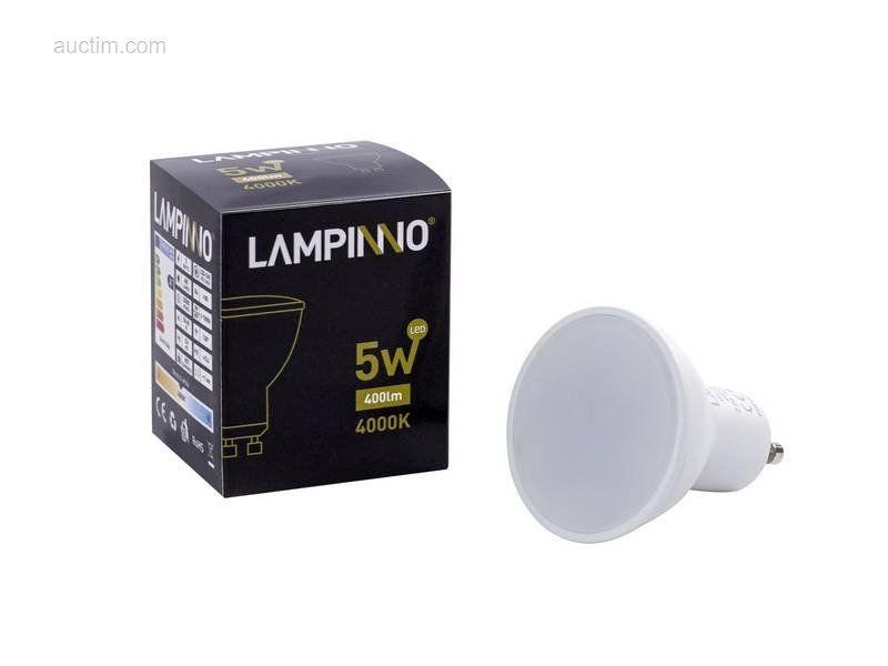 50 x 5 W GU10 SMD LED Spots 4000K - Lichtstrom: